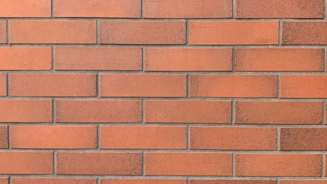 Wall pattern with brick tiles